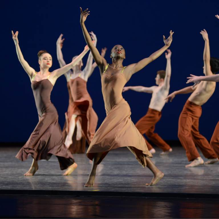 Contemporary ballet performance at the Musical Arts Center.