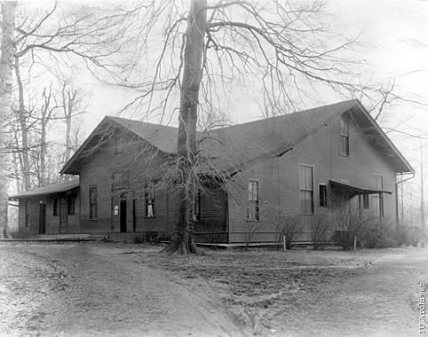 Mitchell Hall in the year 1918.