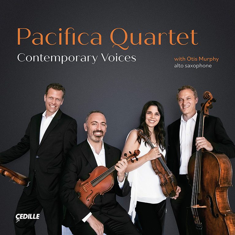 "The Pacifica Quartet's most recent album, ""Contemporary Voices,"" is nominated for a Grammy."